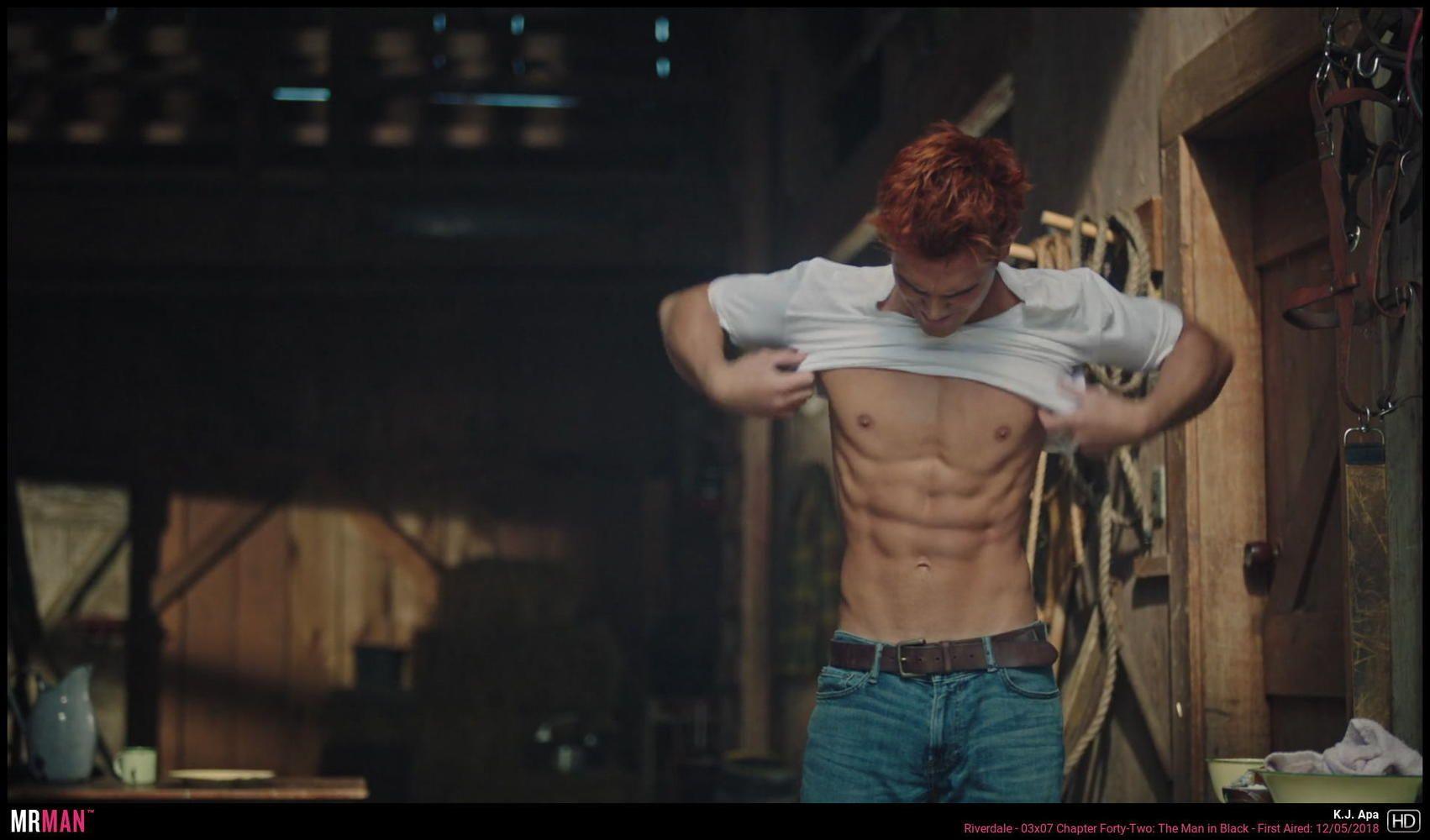 Alexis_Superfans Shirtless Male Celebs: KJ Apa Various